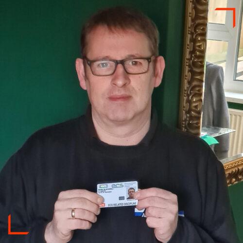 ISCVE-member-Mark-Blackwell-with-AV-Engineer-ECS-Card-1200px-Square-Image